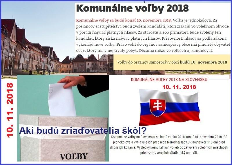 caa9a1452 Otázky Slovenskej komory učiteľov kandidátom v komunálnych voľbách ...