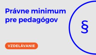 SKU_Právne minimum pedagógov